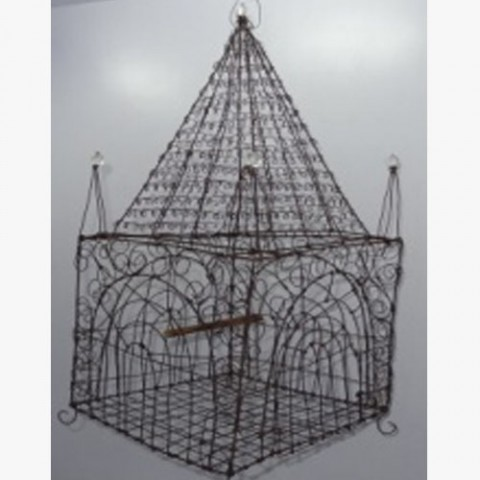 Handmade Wire Work Birds Cage>